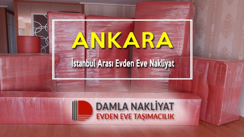 Ankara istanbul arası evden eve nakliyat