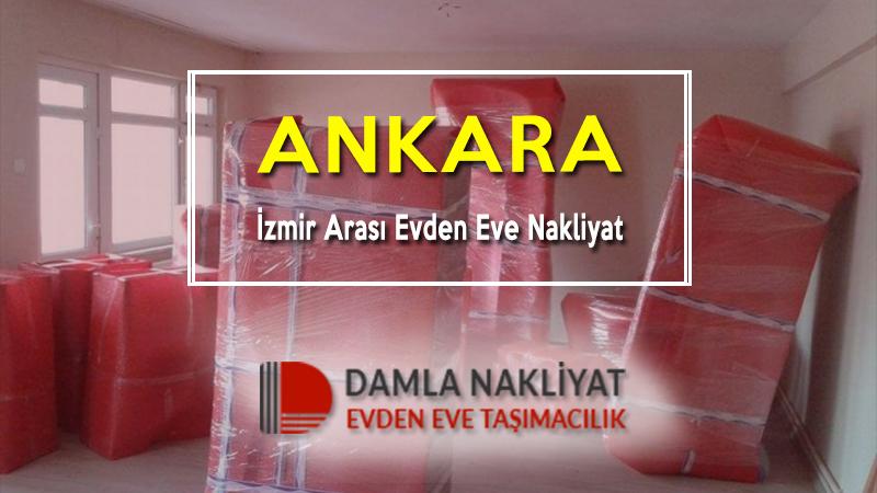 Ankara izmir arası evden eve nakliyat
